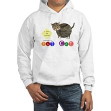Fat Cat licks the butter Hoodie