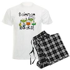 Frogs Science Rocks Pajamas