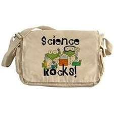Frogs Science Rocks Messenger Bag