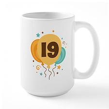 19th Birthday Party Mug