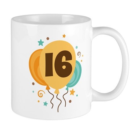 16th Birthday Party Mug