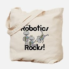 Robotics Rocks Tote Bag