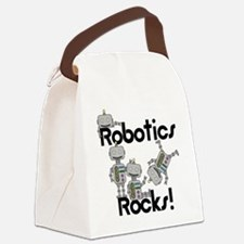 Robotics Rocks Canvas Lunch Bag
