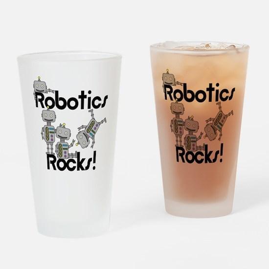 Robotics Rocks Drinking Glass