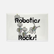 Robotics Rocks Rectangle Magnet (100 pack)