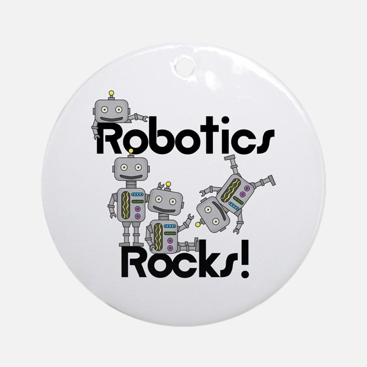 Robotics Rocks Ornament (Round)