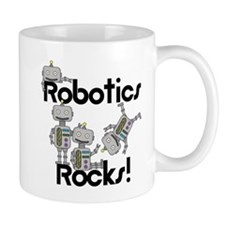 Robotics Rocks Small Mug