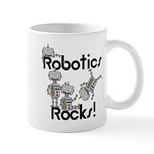 Robotics Rocks Small Mugs