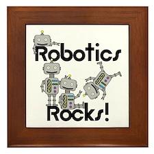 Robotics Rocks Framed Tile