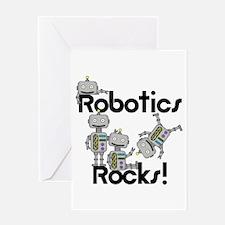 Robotics Rocks Greeting Card