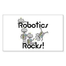 Robotics Rocks Decal