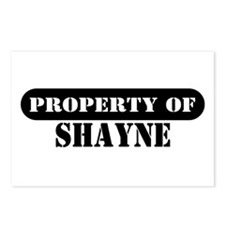 Property of Shayne Postcards (Package of 8)