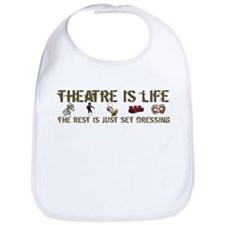 Theatre is Life Bib