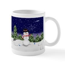 Snowman Scene (GC) Mugs