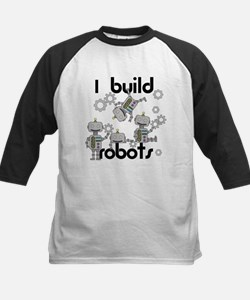 I Build Robots Kids Baseball Jersey