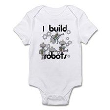 I Build Robots Infant Bodysuit