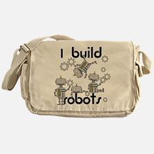 I Build Robots Messenger Bag