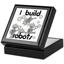 I Build Robots Keepsake Box