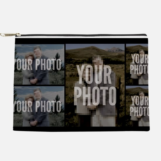 5 PHOTO COLLAGE Makeup Pouch