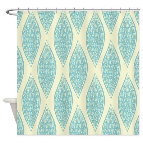 Vintage Pattern Shower Curtain By BestShowerCurtains