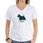 Terrier - Campbell Women's V-Neck T-Shirt