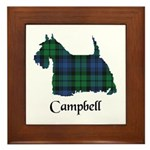 Terrier - Campbell Framed Tile