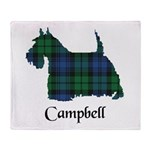 Terrier - Campbell Throw Blanket