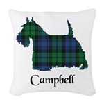 Terrier - Campbell Woven Throw Pillow