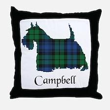 Terrier - Campbell Throw Pillow