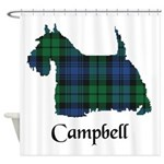 Terrier - Campbell Shower Curtain