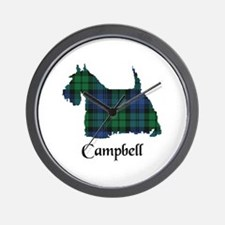 Terrier - Campbell Wall Clock