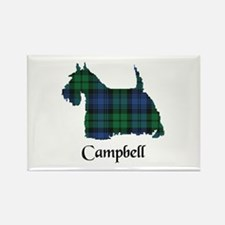 Terrier - Campbell Rectangle Magnet