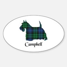 Terrier - Campbell Sticker (Oval)