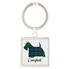 Terrier - Campbell Square Keychain