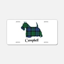 Terrier - Campbell Aluminum License Plate
