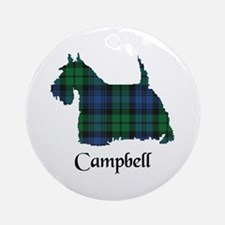 Terrier - Campbell Ornament (Round)