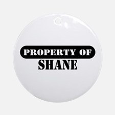 Property of Shane Ornament (Round)