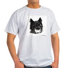 Snow Dog Ash Grey T-Shirt