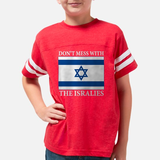 Isralies(blk) Youth Football Shirt