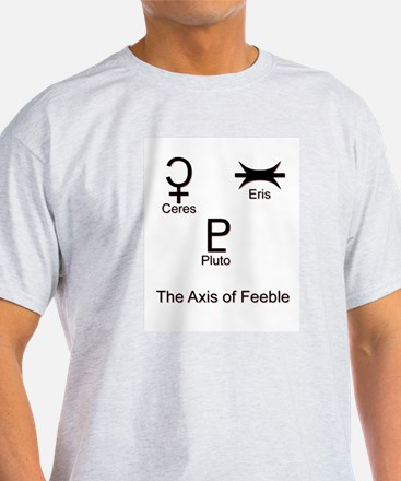 Axis of Feeble Ash Grey T-Shirt