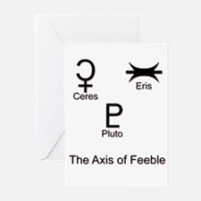 Axis of Feeble Greeting Cards (Pk of 10)
