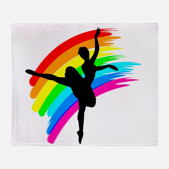 GRACEFUL DANCER Throw Blanket