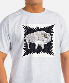 White Buffalo Ash Grey T-Shirt
