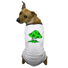 Leprechaun Mushroom Dog T-Shirt
