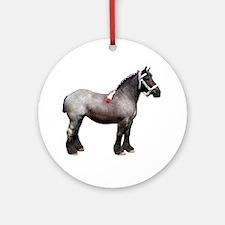 """Belgian 1"" Ornament (Round)"