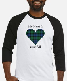 Heart - Campbell Baseball Jersey