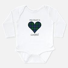 Heart - Campbell Long Sleeve Infant Bodysuit