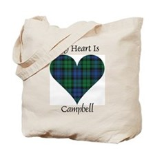 Heart - Campbell Tote Bag