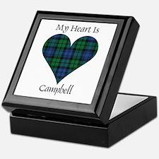 Heart - Campbell Keepsake Box