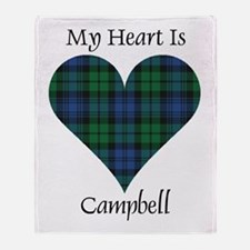 Heart - Campbell Throw Blanket